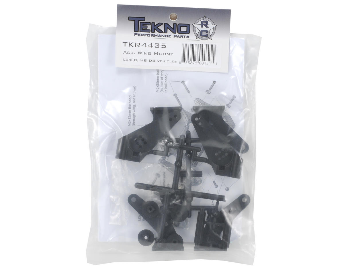 Tekno RC Adjustable Wing Mount