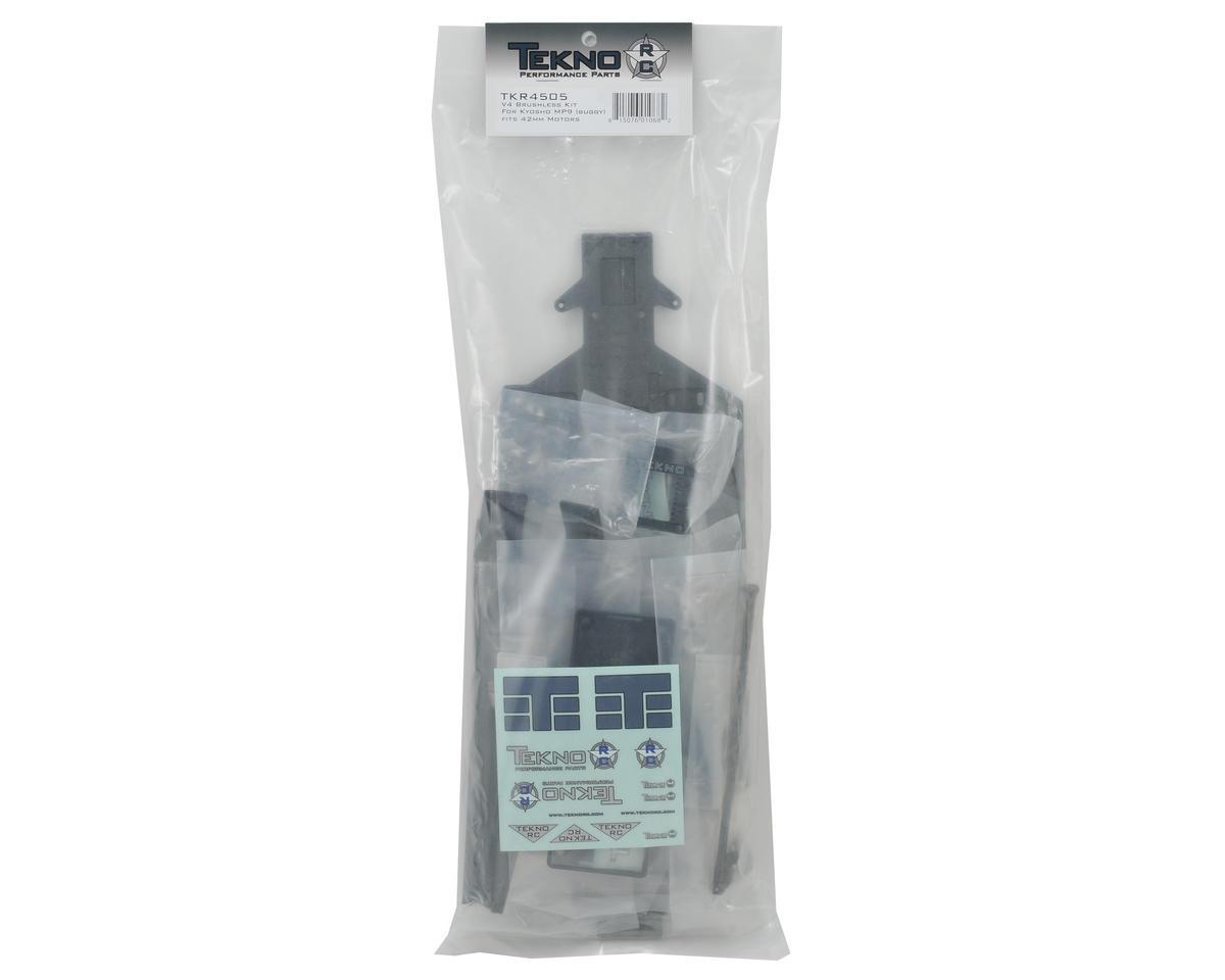 Tekno RC V4 Brushless Kit (Kyosho MP9/42mm Motors)