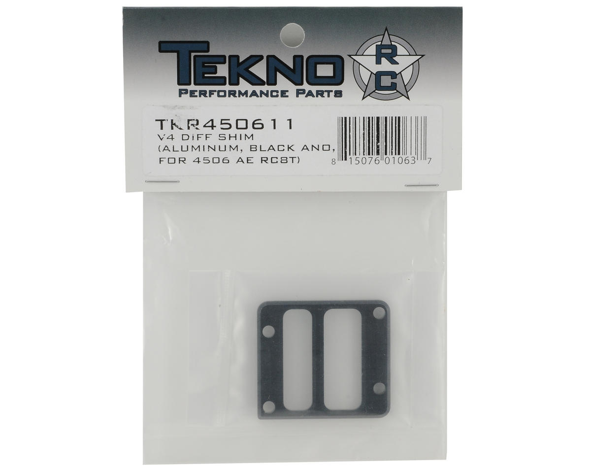 Tekno RC V4 Aluminum Center Differential Shim Plate (RC8T)
