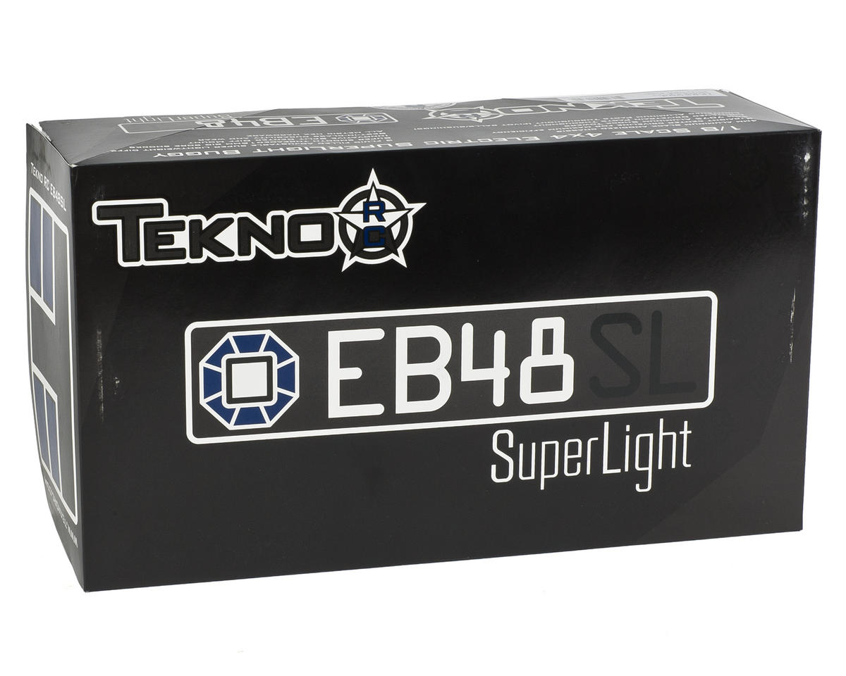 EB48.3SL SuperLight 4WD Competition 1/8 Electric Buggy Kit by Tekno RC