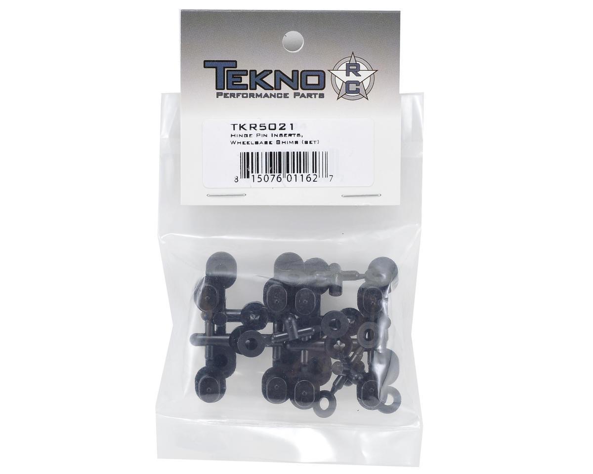 Tekno RC Hinge Pin Insert & Wheelbase Shim Set