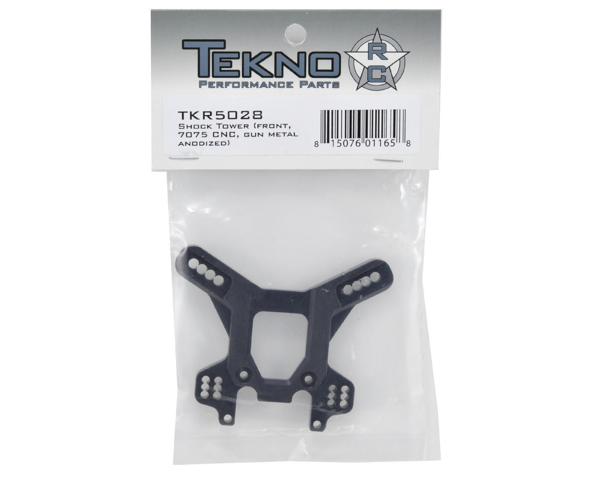 Tekno RC Front CNC Shock Tower (Gun Metal)