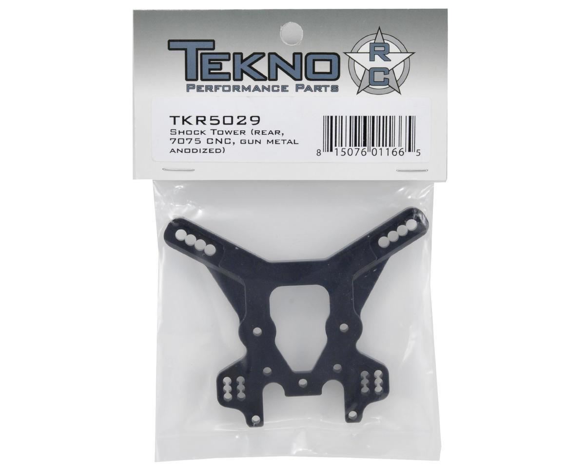 Tekno RC Rear CNC Shock Tower (Gun Metal)