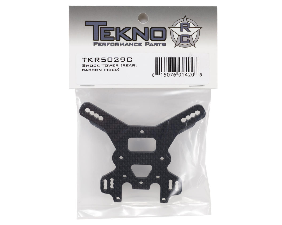 Tekno RC 4mm Carbon Fiber Rear Shock Tower