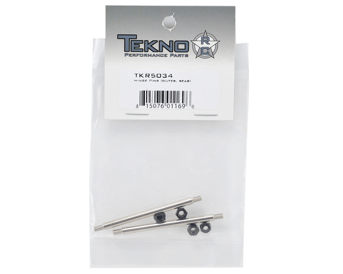 Tekno RC Rear Outer Hinge Pin Set (2)