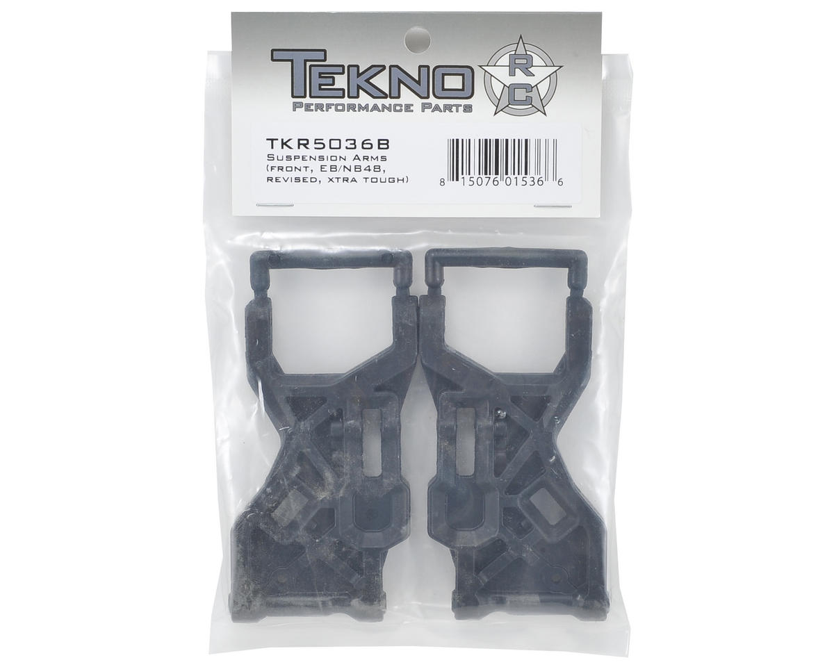 Tekno RC Xtra Tough Front Suspension Arm Set (2) (Revised)
