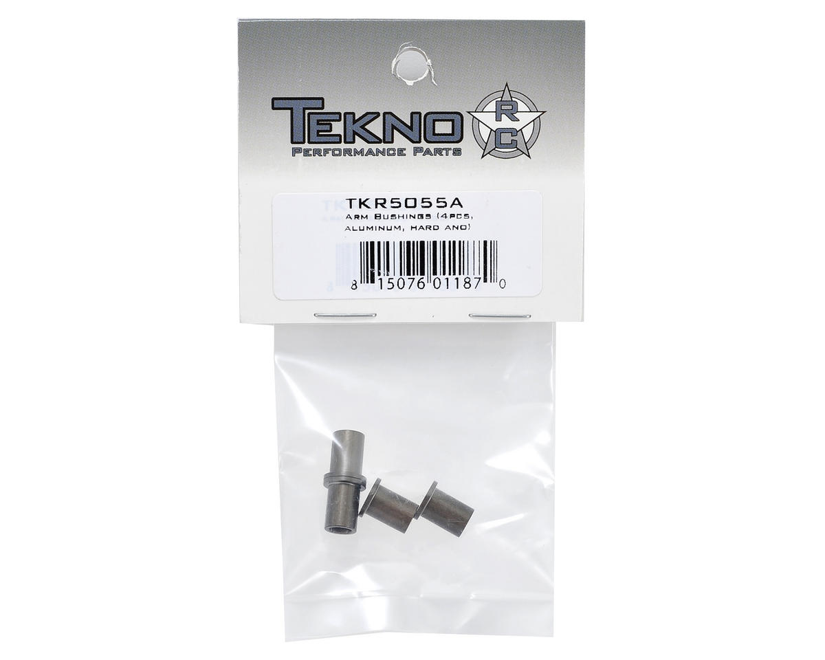 Aluminum Arm Bushing Set (4) by Tekno RC