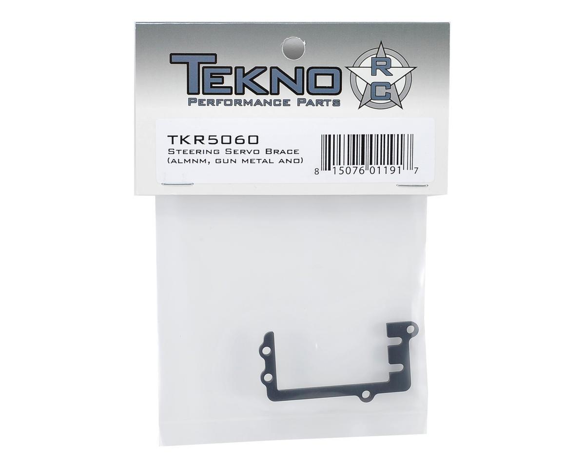 Tekno RC Aluminum Steering Servo Brace (Gun Metal)
