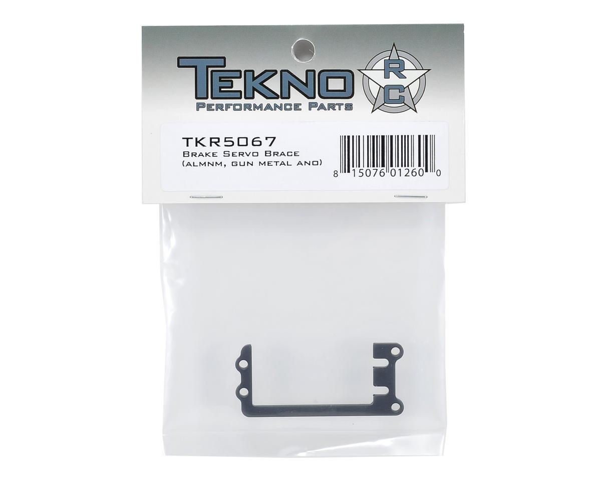 Tekno RC Aluminum Brake Servo Brace (Gun Metal)