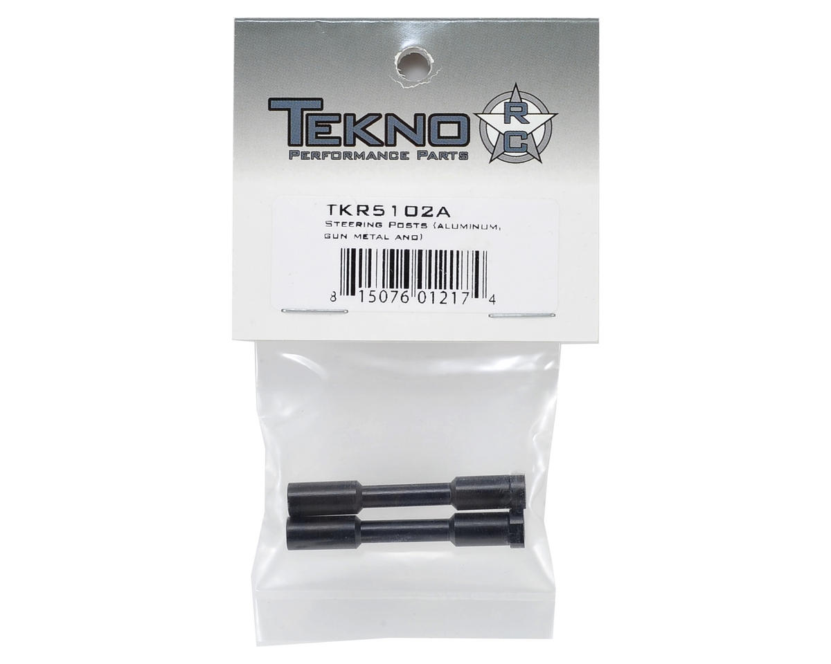 Tekno RC Aluminum Steering Post Set (Gun Metal)