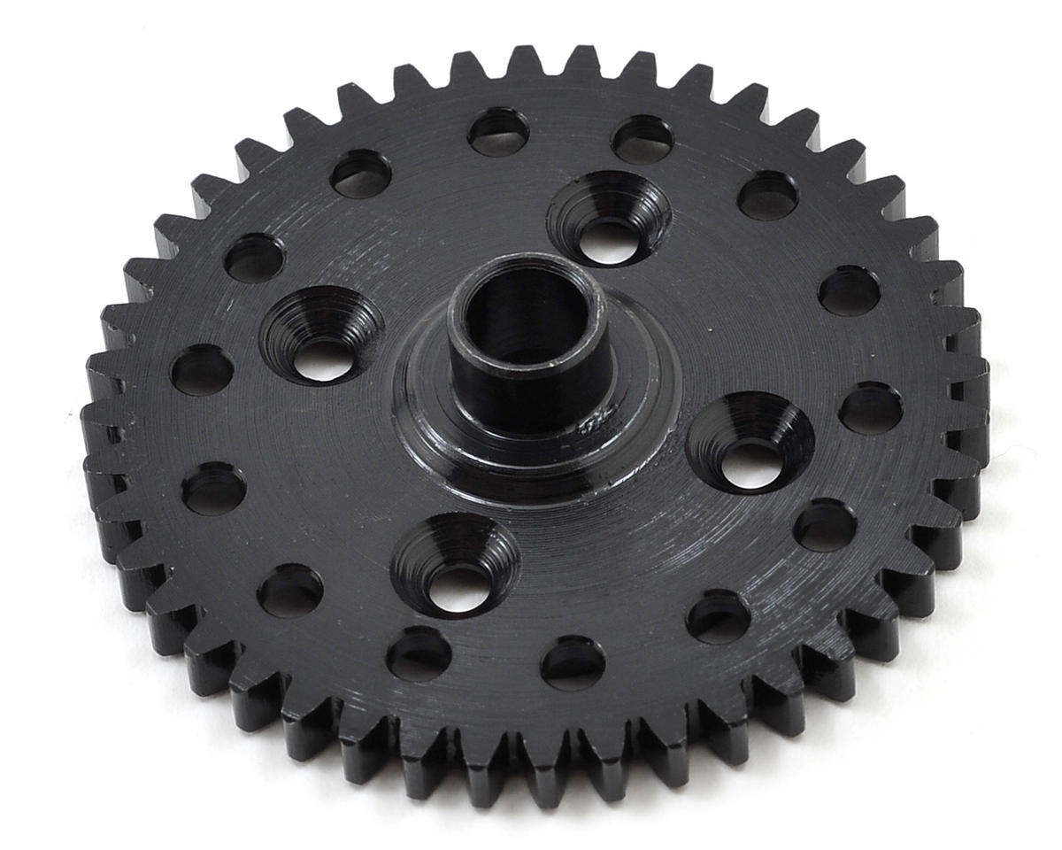 Lightened 44T Hardened Steel Spur Gear by Tekno RC