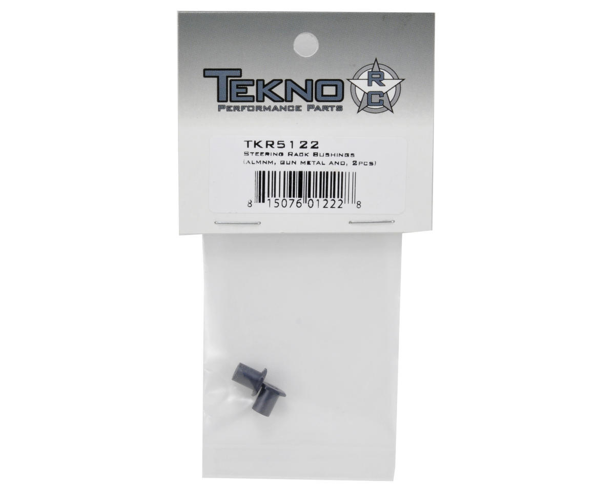 Aluminum Steering Rack Bushing Set (2) by Tekno RC