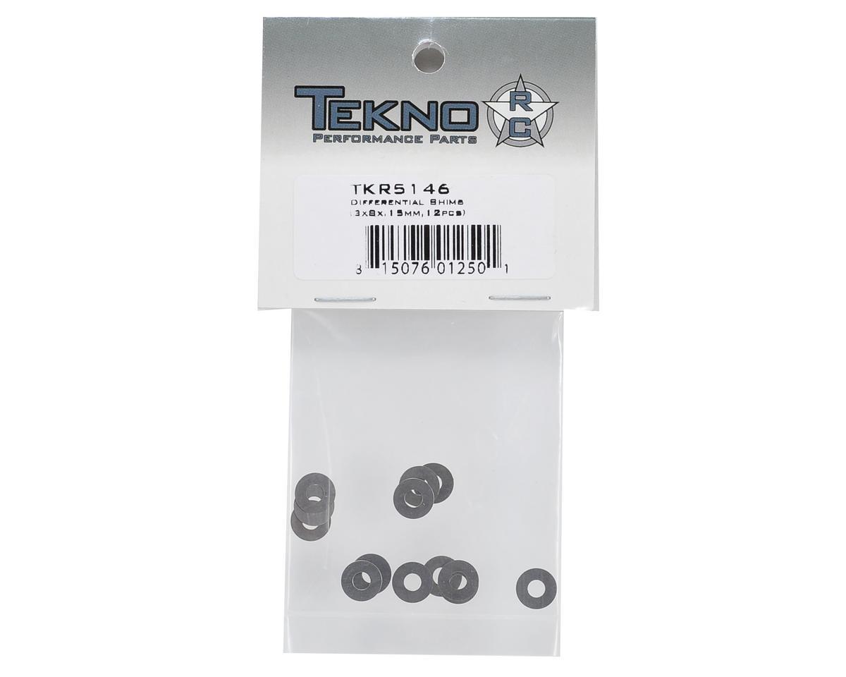 Tekno RC 3x8x.15mm Differential Shim (12)