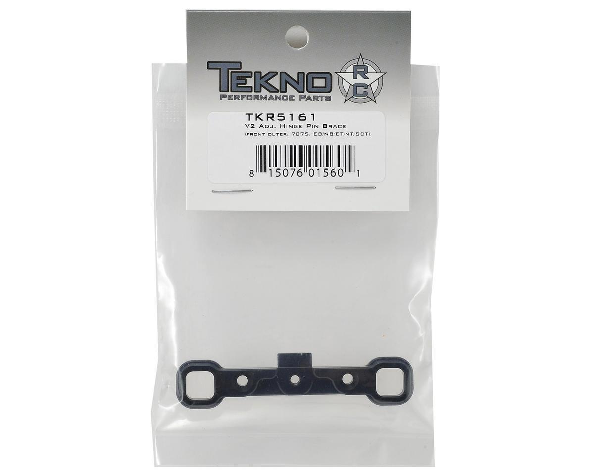 """Tekno RC Aluminum V2 """"A"""" Block Adjustable Hinge Pin Brace"""