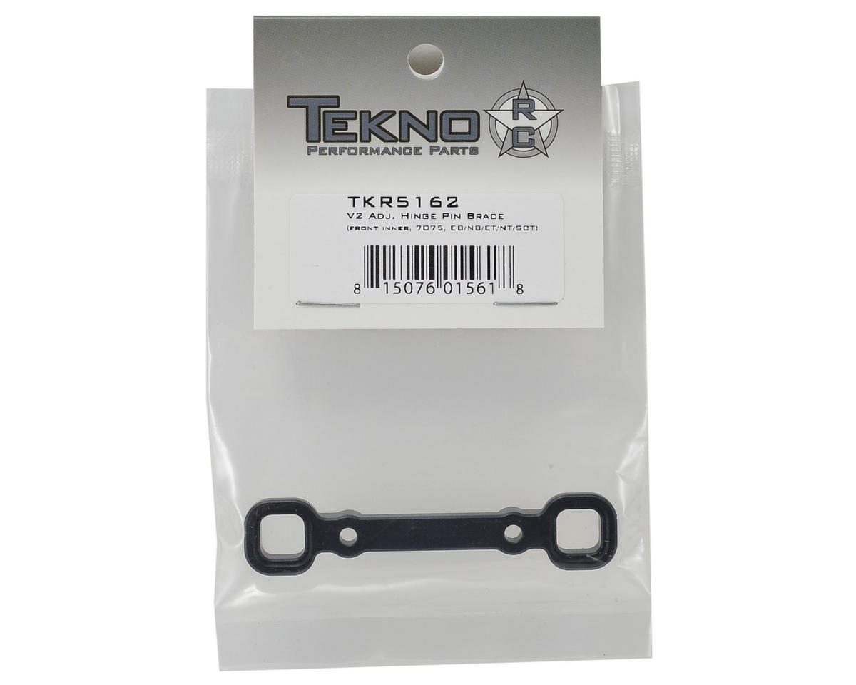 "Tekno RC Aluminum V2 ""B"" Block Adjustable Hinge Pin Brace"