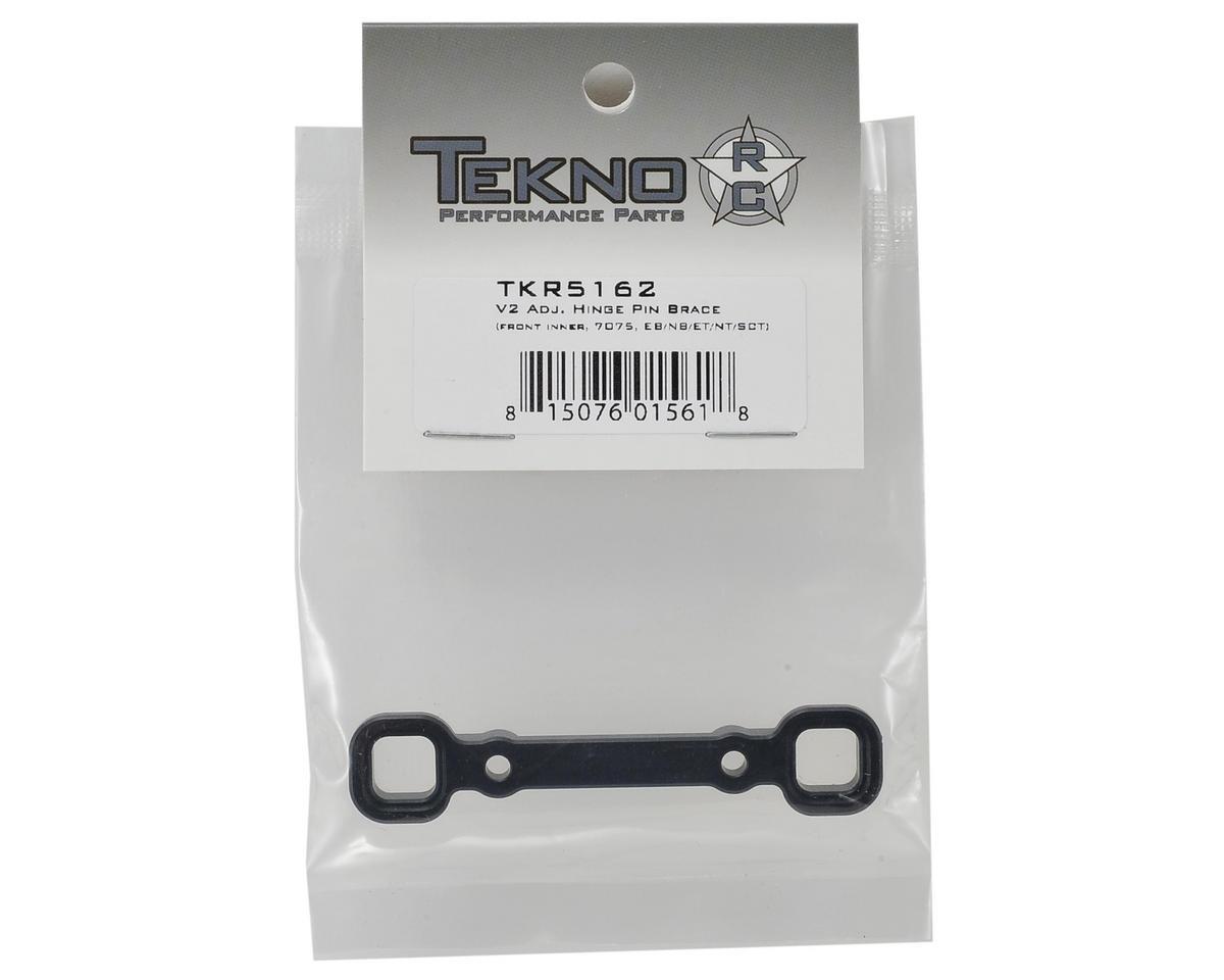 """Aluminum V2 """"B"""" Block Adjustable Hinge Pin Brace by Tekno RC"""