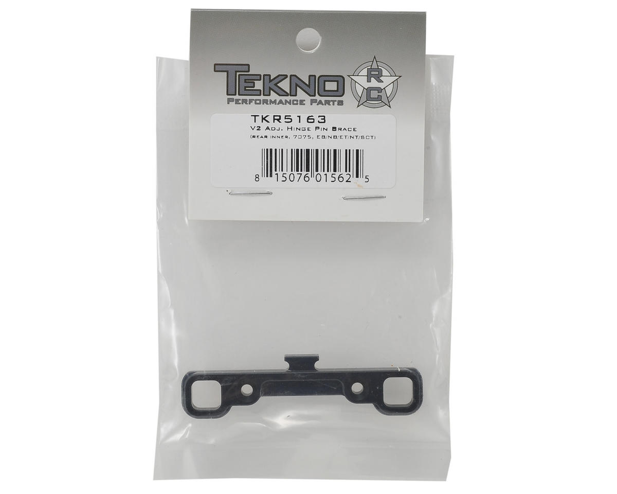 "Tekno RC Aluminum V2 ""C"" Block Adjustable Hinge Pin Brace"