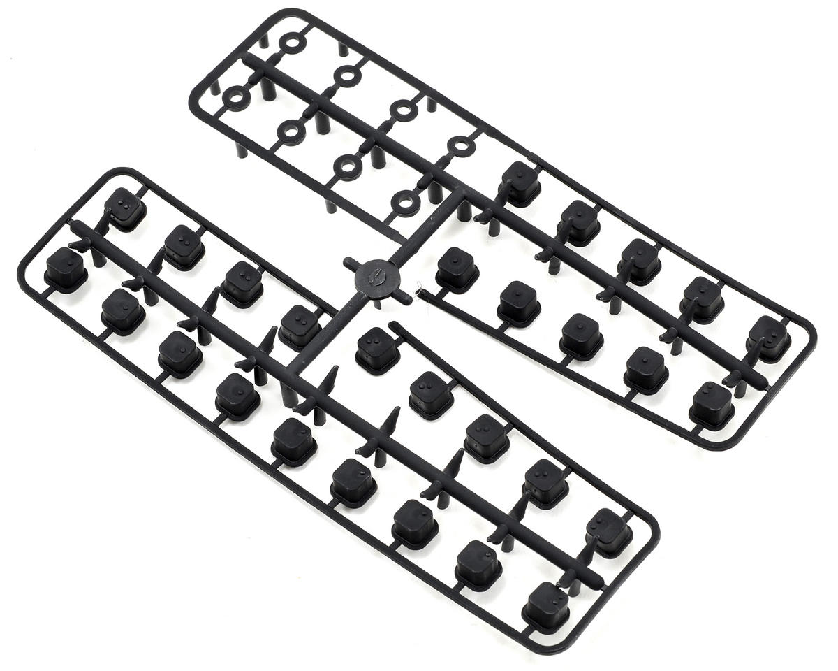 V2 Hinge Pin Inserts/Wheelbase Shim Set by Tekno RC