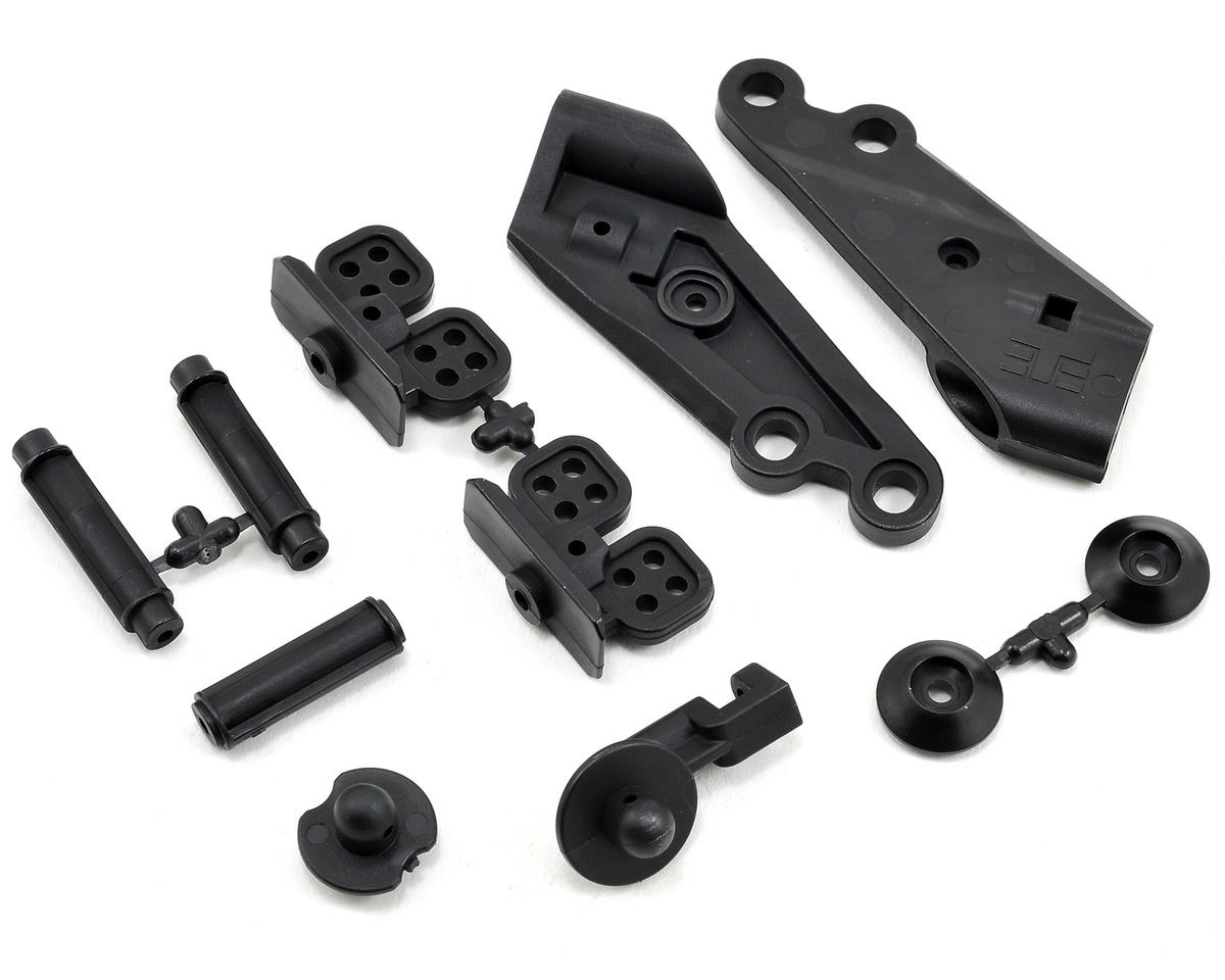 Low Profile Wing Mount & Body Mount Set by Tekno RC