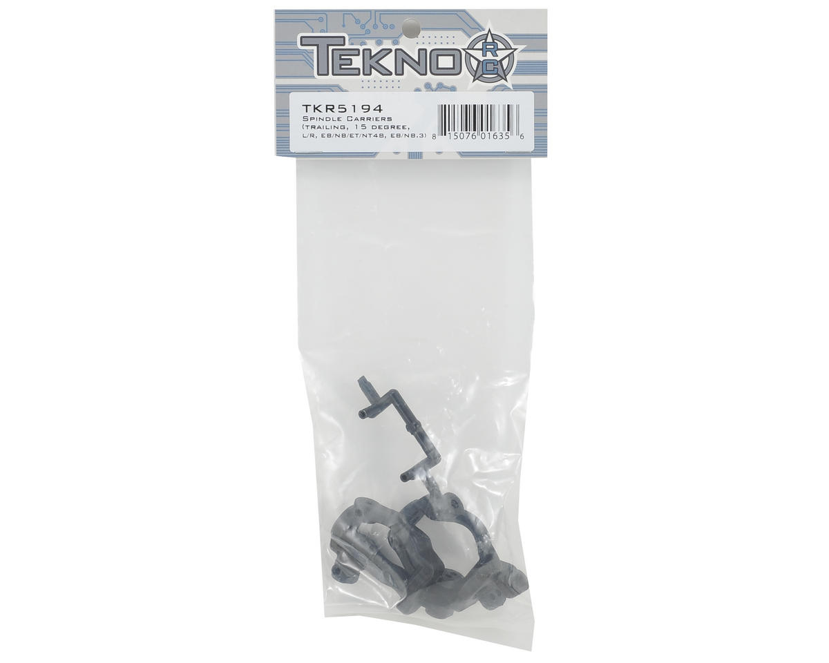 Tekno RC 15° Trailing Spindle Carrier Set
