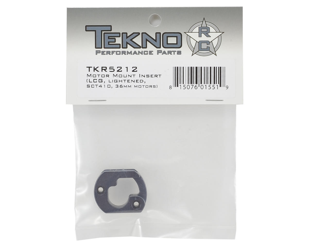 Tekno RC Aluminum Lightened LCG Motor Mount (Gun Metal)