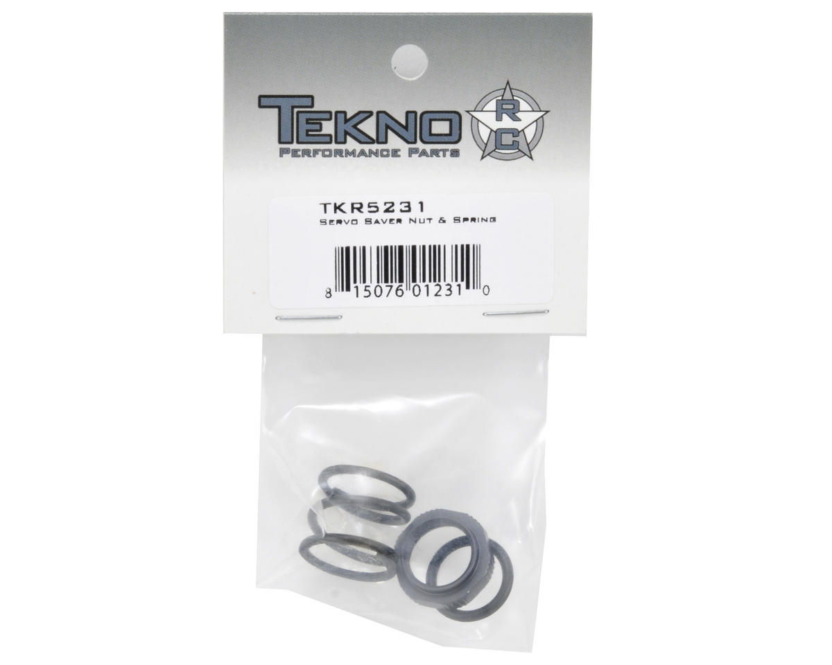 Tekno RC Servo Saver Nut & Spring Set