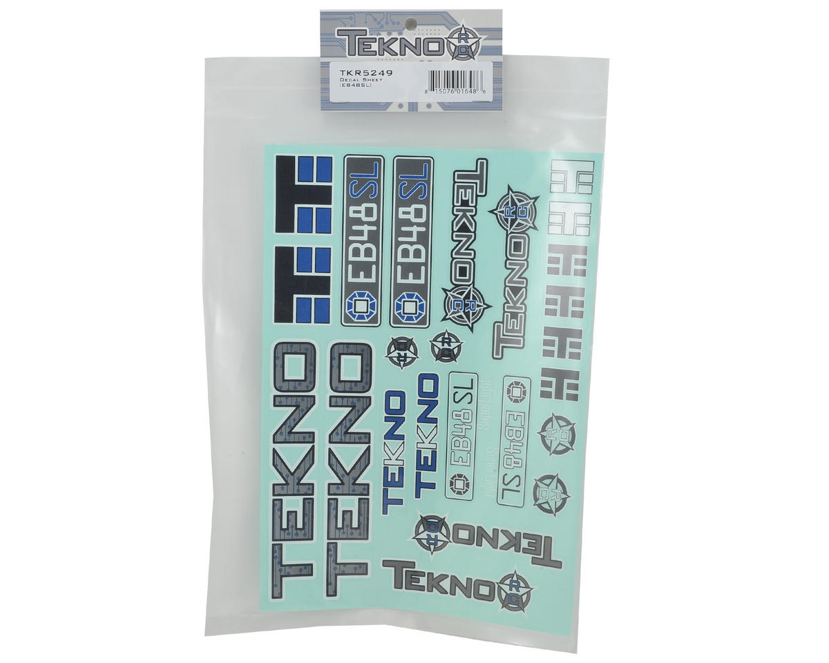 Tekno RC EB48SL Decal Sheet