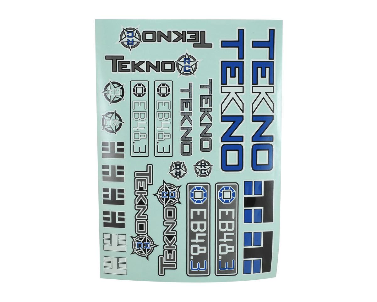 Tekno RC EB48.3 Decal Sheet