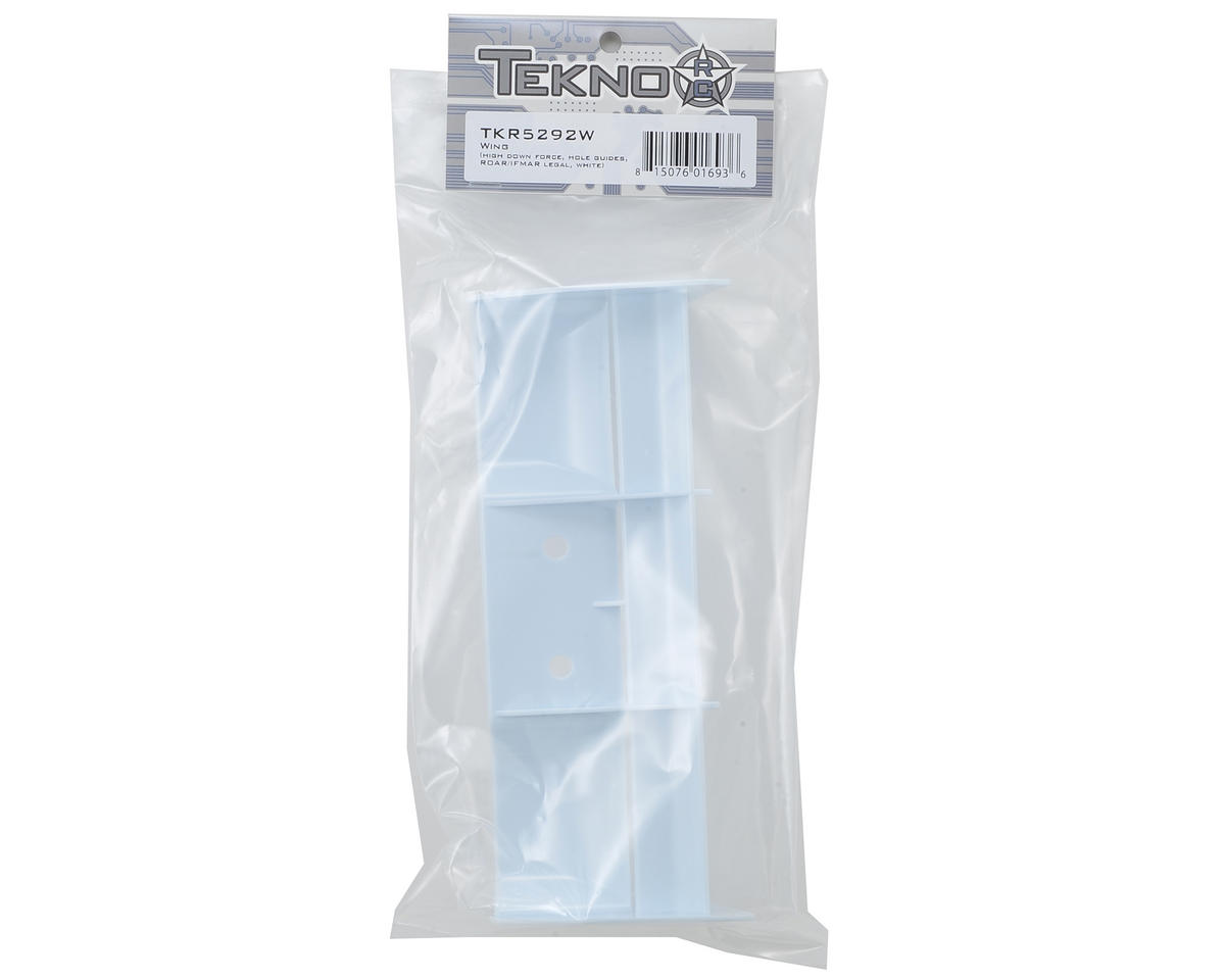 Tekno RC 1/8 High Down Force Buggy Wing (ROAR/IFMAR Legal) (White)