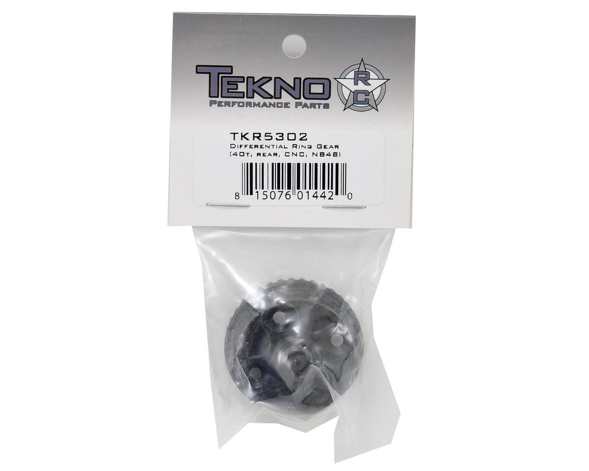 Tekno RC NB48 CNC Rear Differential Ring Gear (40T)
