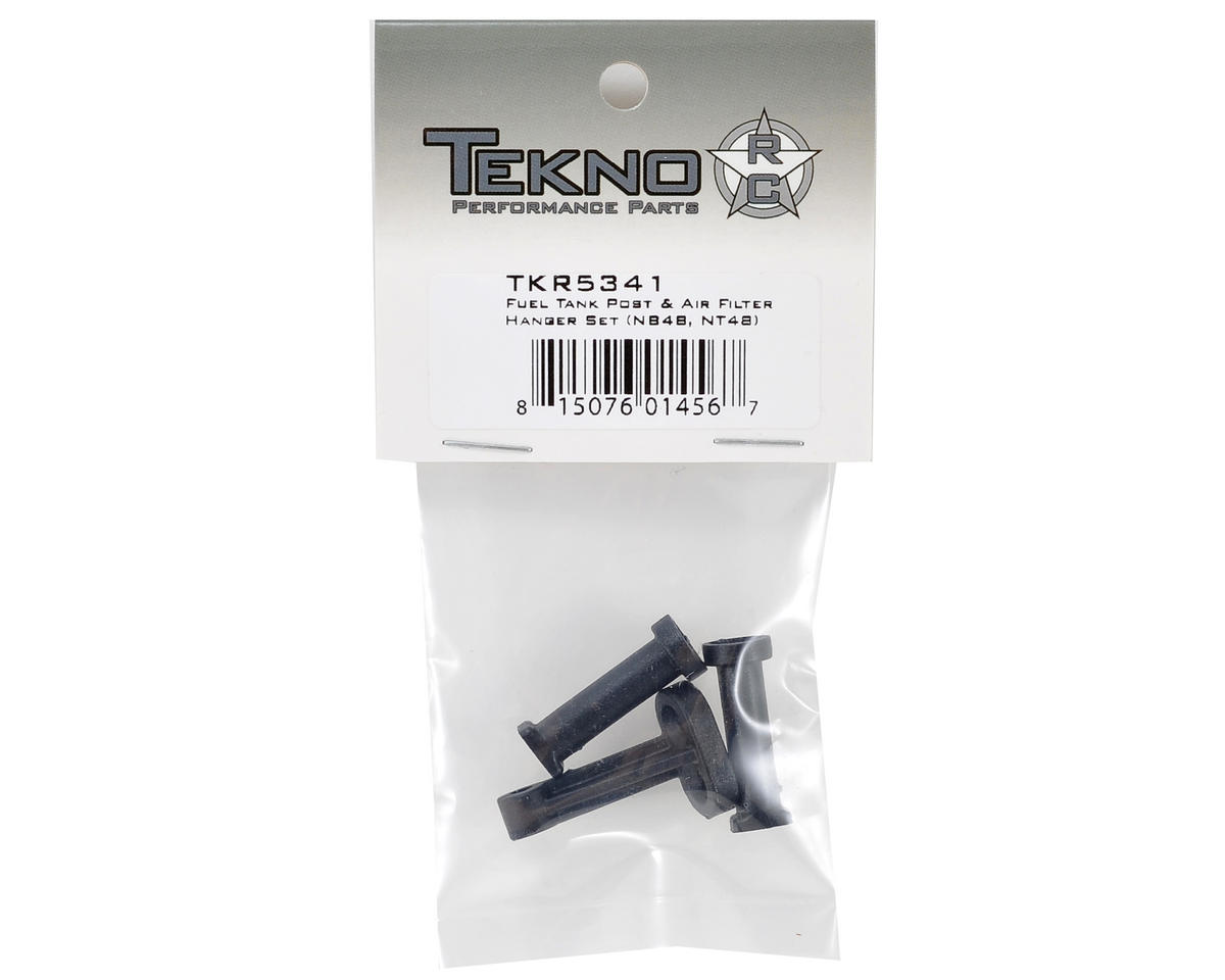 Tekno RC Fuel Tank Post & Air Filter Hanger Set
