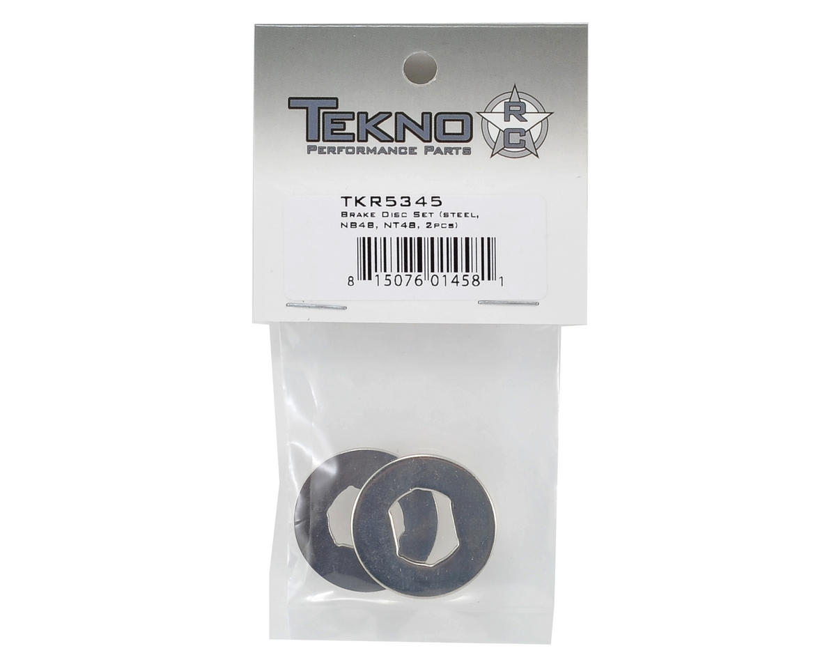 Tekno RC Steel Brake Disc Set (2)