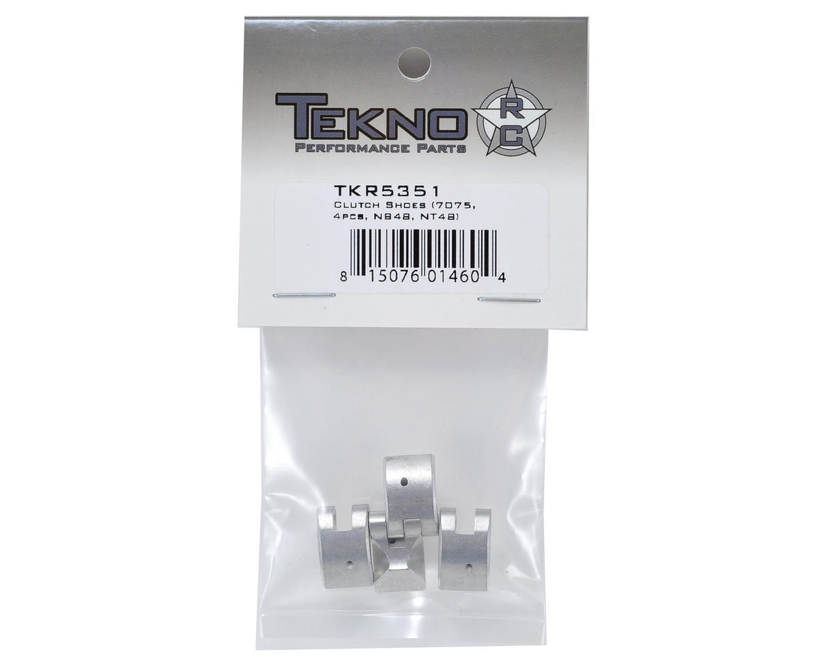 Aluminum Clutch Shoes (4) by Tekno RC
