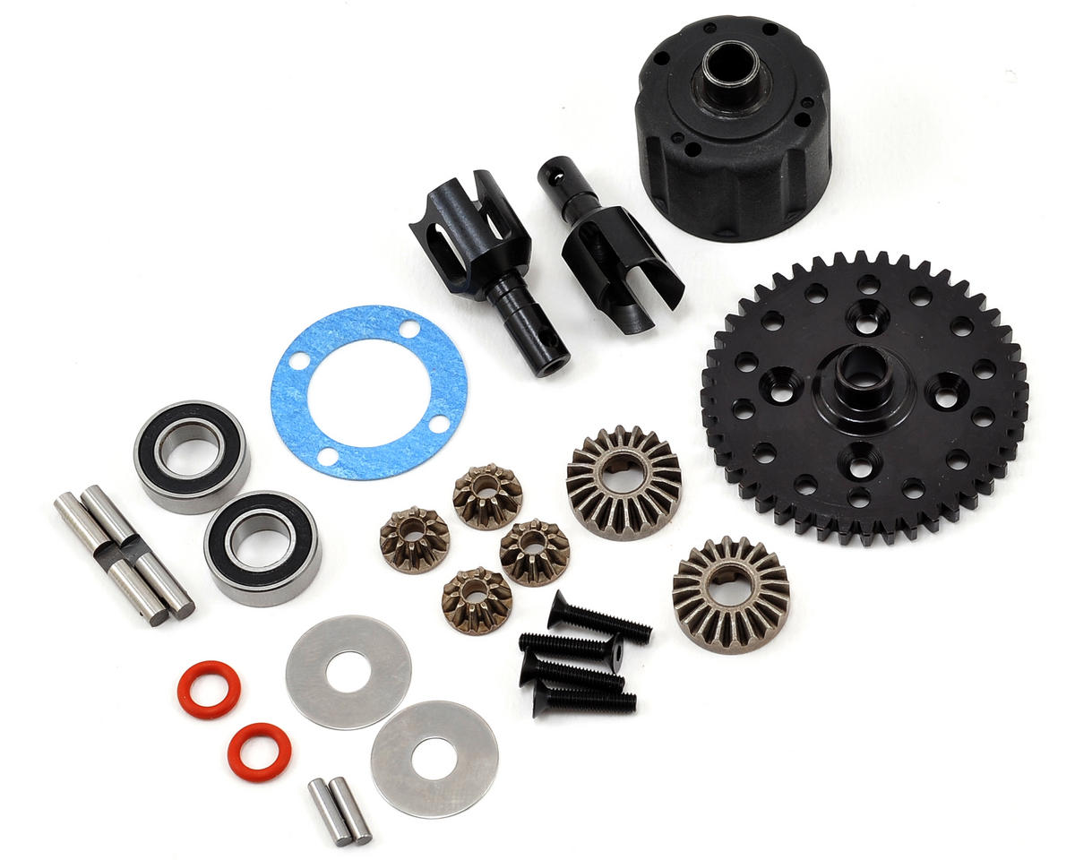 Tekno RC ET48 Complete Center Differential
