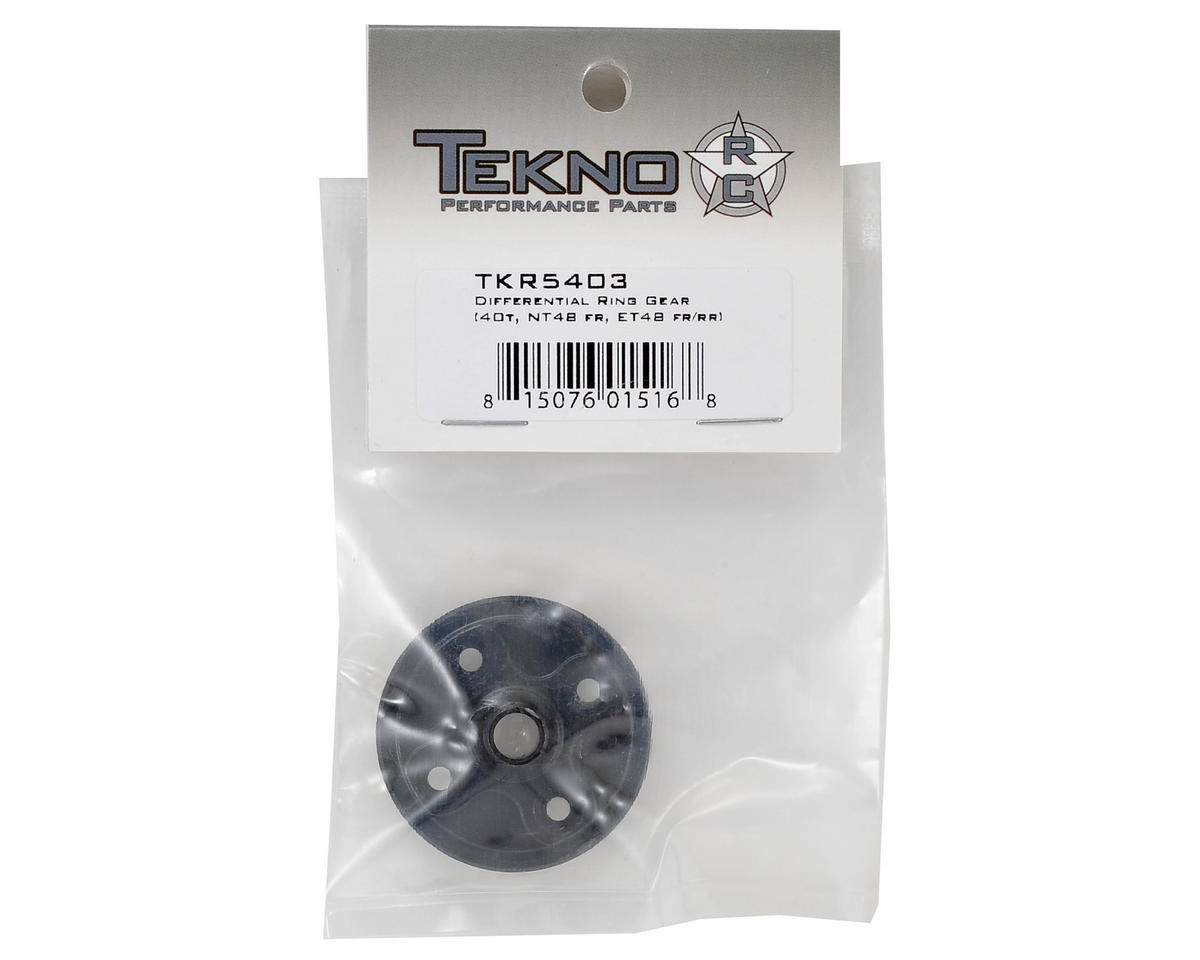 Tekno RC CNC Straight Cut Differential Ring Gear (40T)