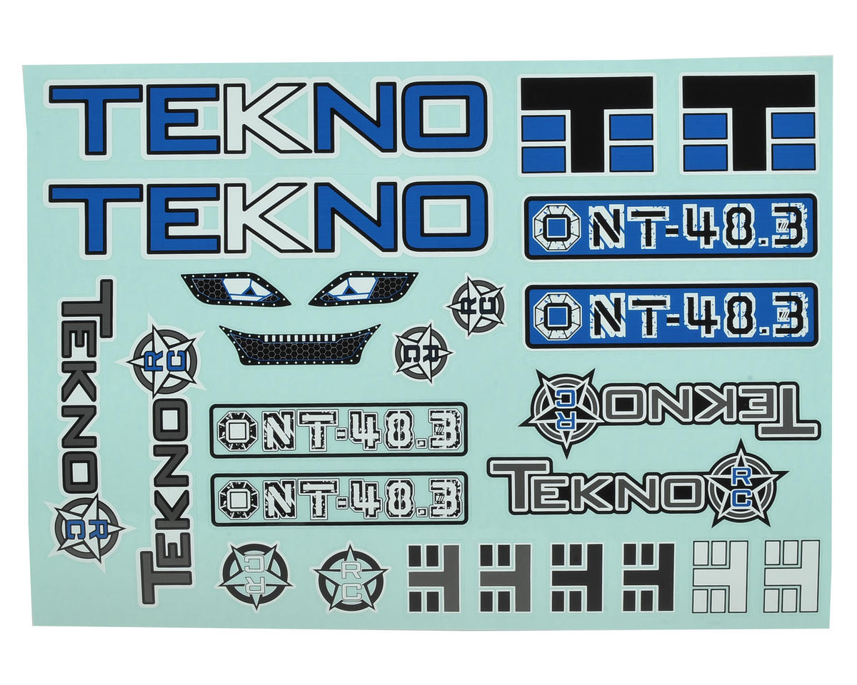 Tekno RC NT48.3 Decal Sheet