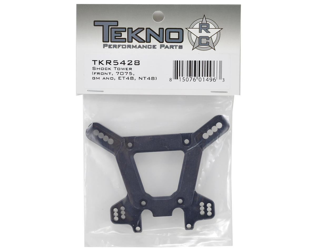 Tekno RC Aluminum Front Shock Tower (Gun Metal)