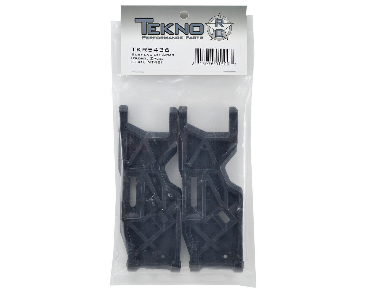 Front Suspension Arms (2) by Tekno RC