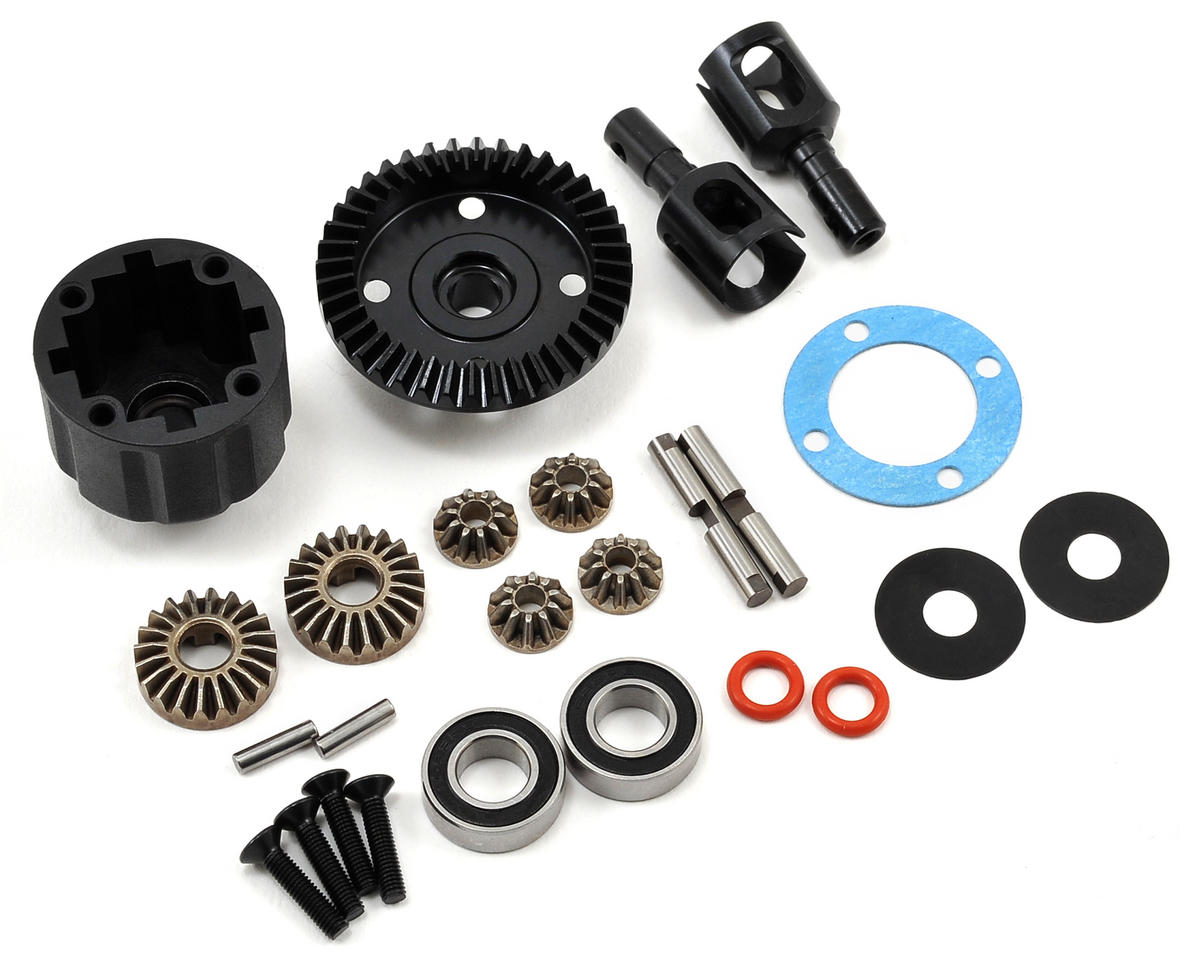 Complete Front/Rear Differential by Tekno RC