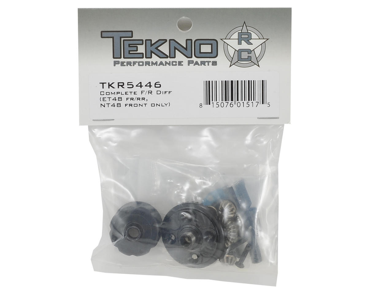 Tekno RC Complete Front/Rear Differential