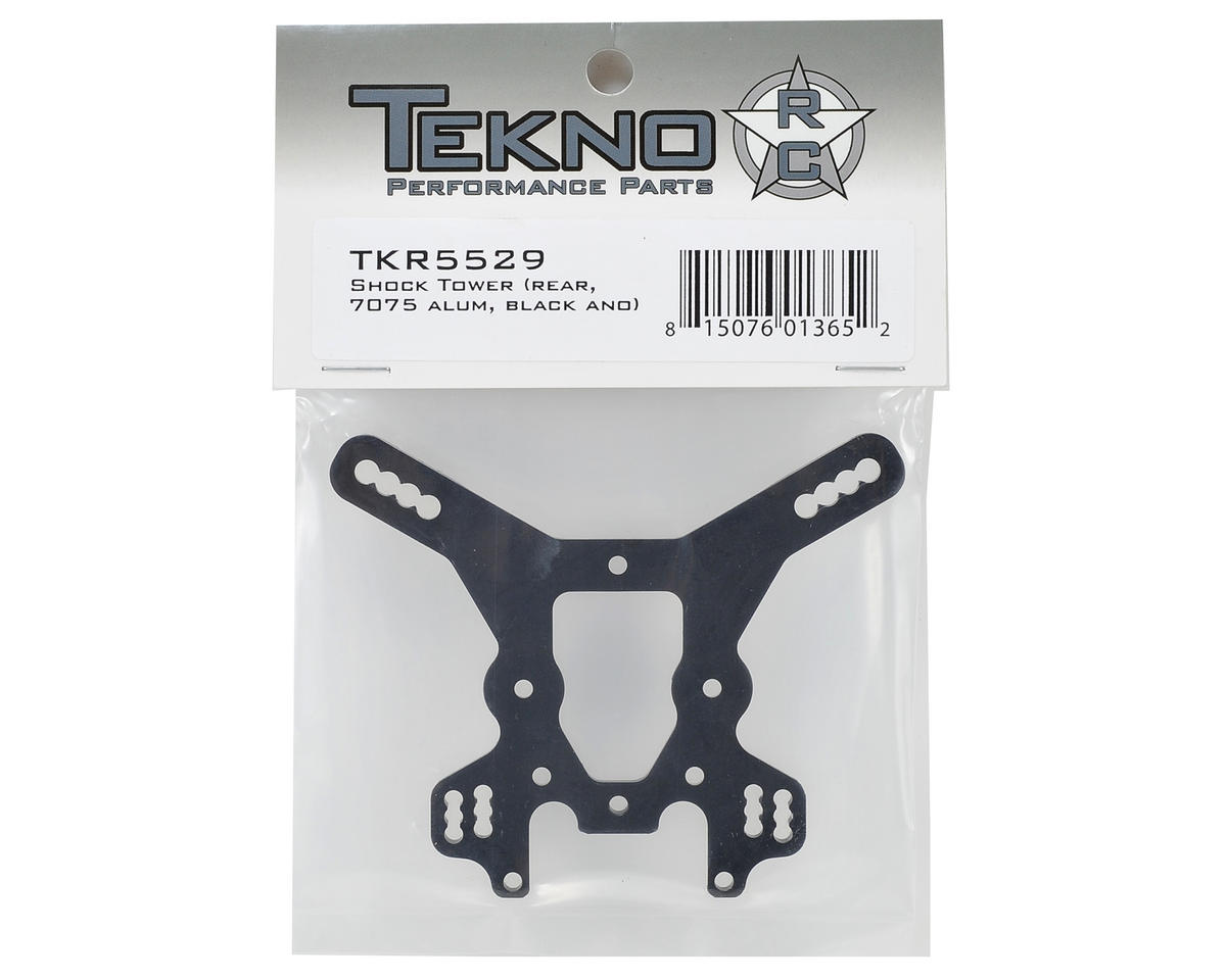 Tekno RC Rear Shock Tower (Gun Metal)