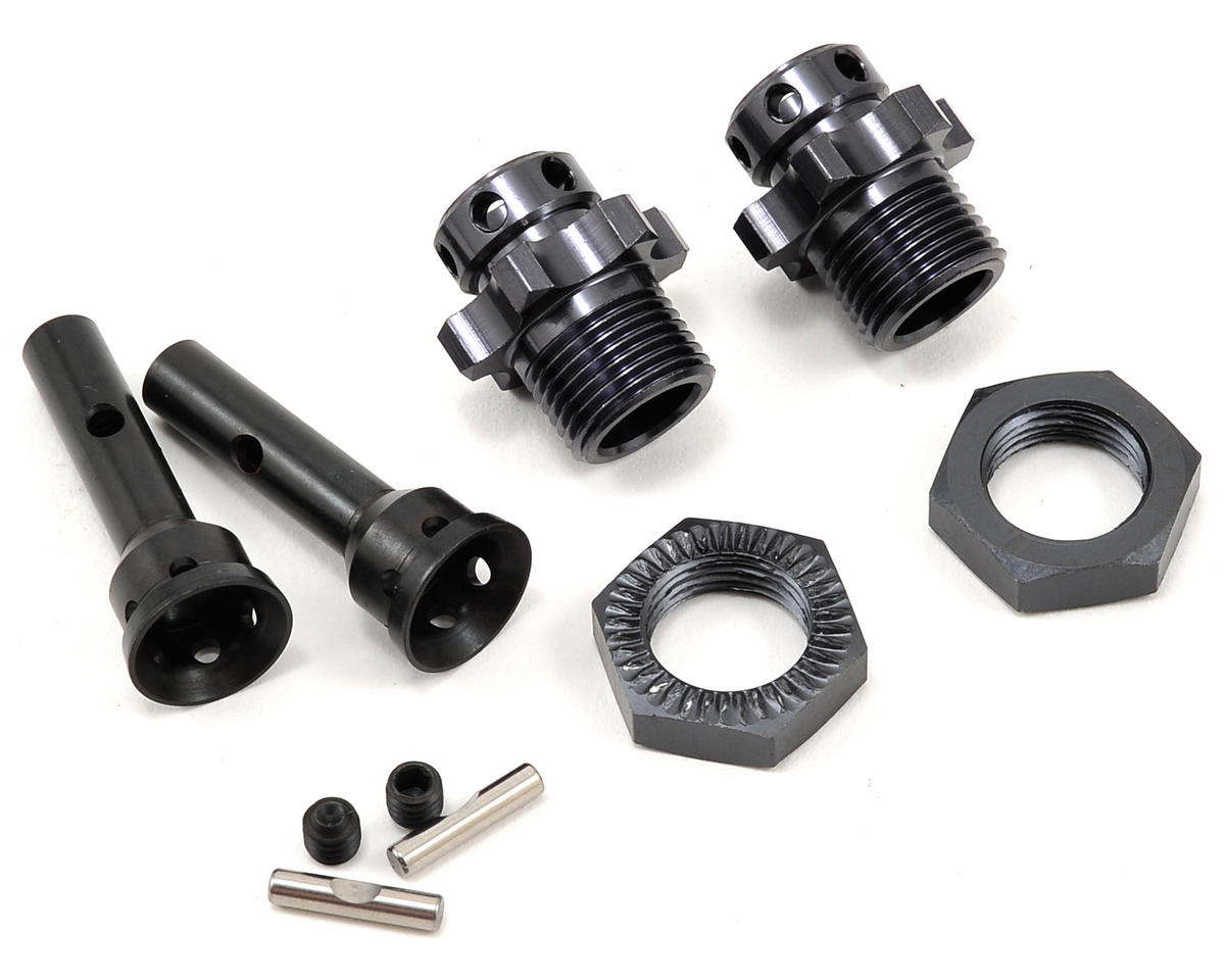 17mm Hub Adapters (2) (1/8th Width) (SCT410) by Tekno RC