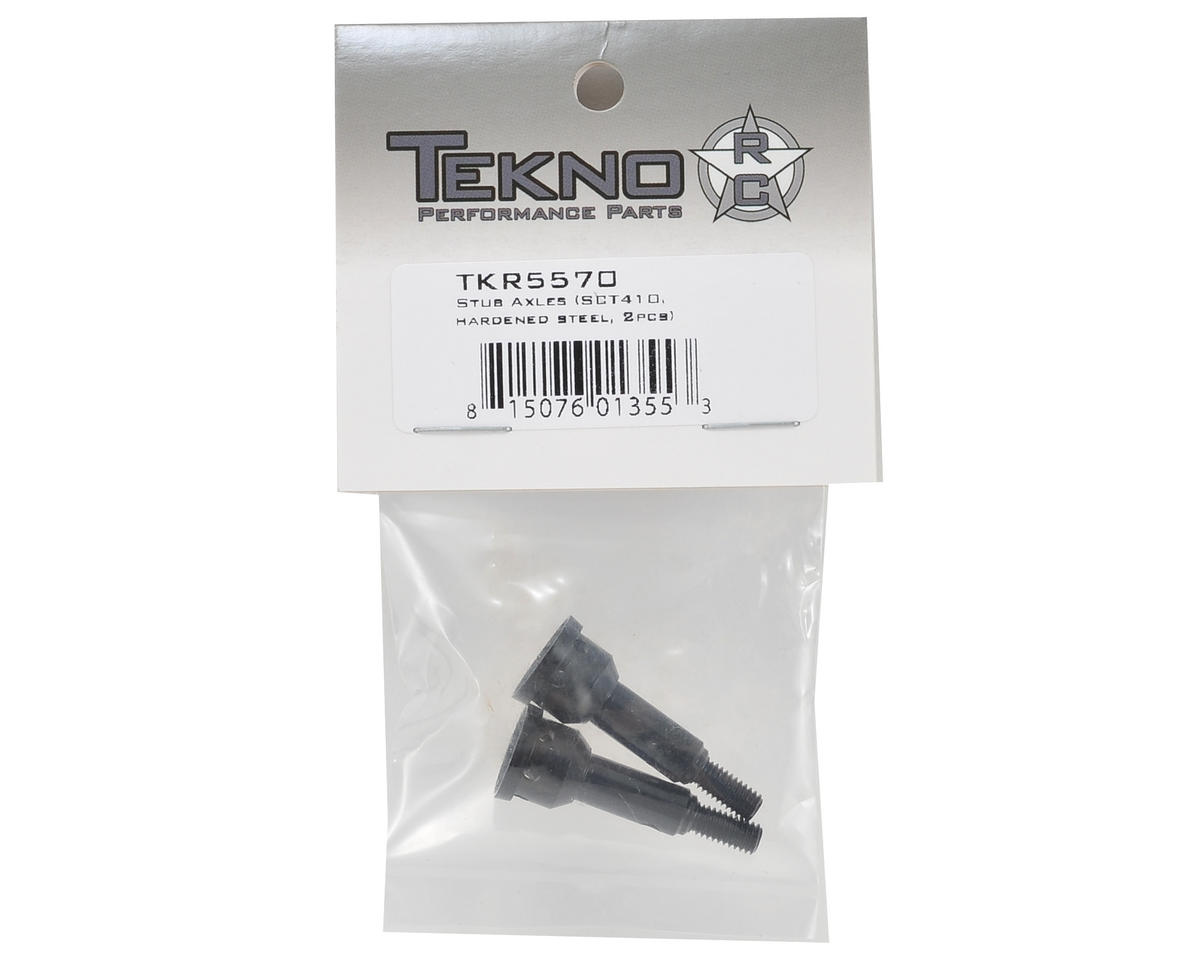 Tekno RC Hardened Steel Stub Axle Set (2)