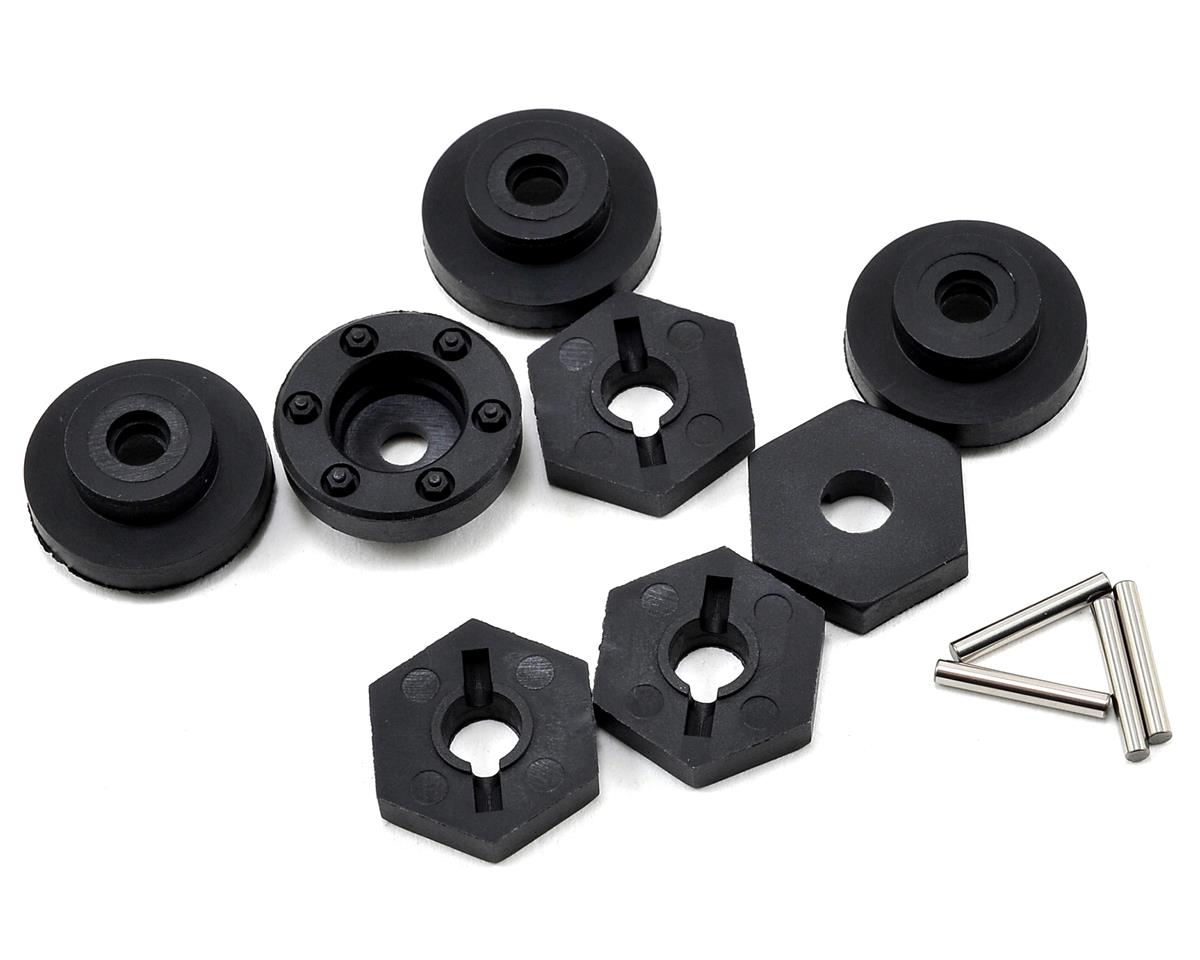Tekno RC 17mm Composite Hub Adapter Set (4) (SCT Width)