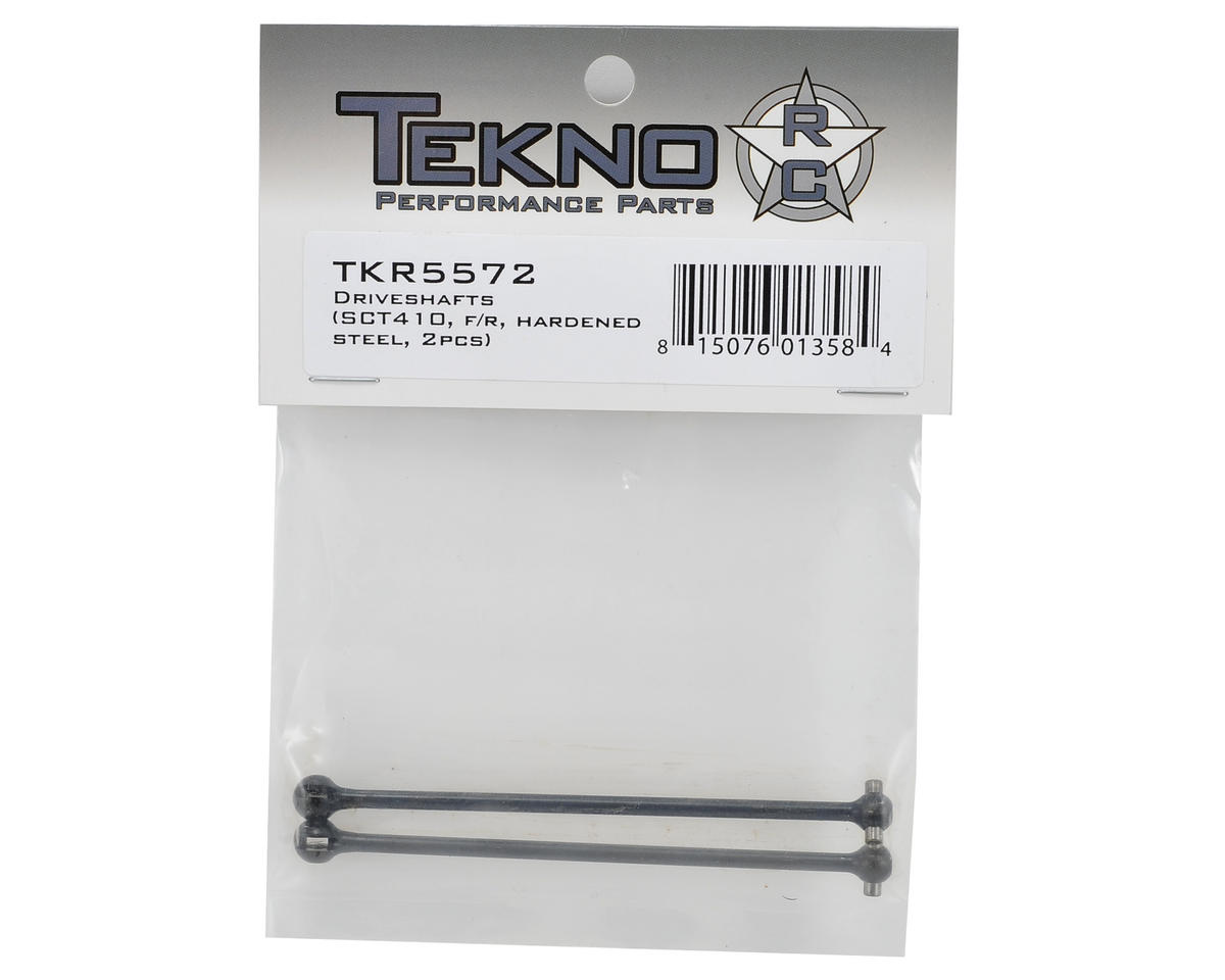 Hardened Steel CVD Driveshaft Set (2) by Tekno RC