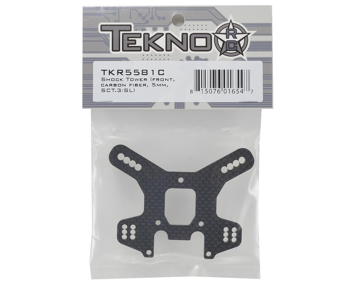 Tekno RC 5.0mm Carbon Fiber Front Shock Tower