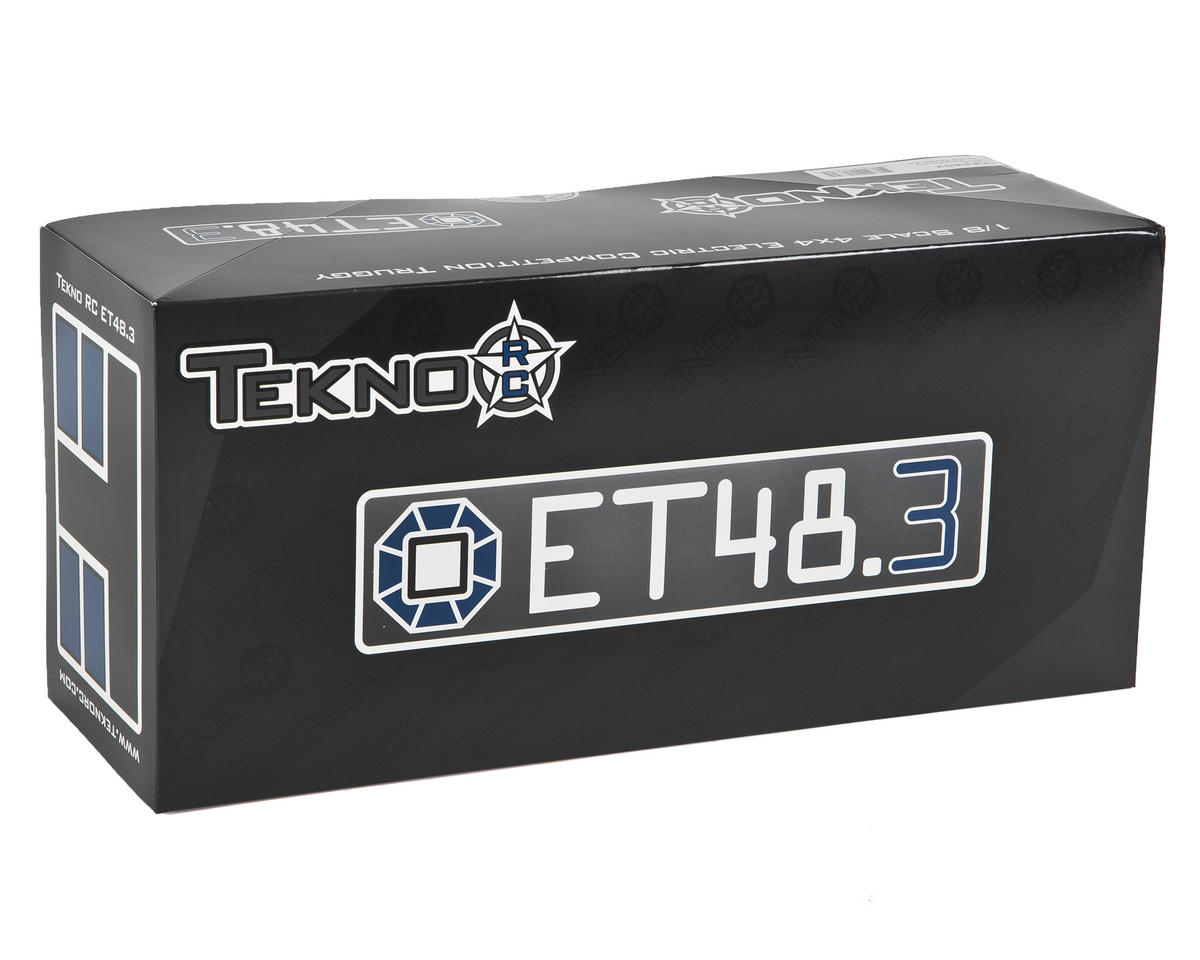 ET48.3 1/8 Electric 4WD Off Road Truggy Kit by Tekno RC