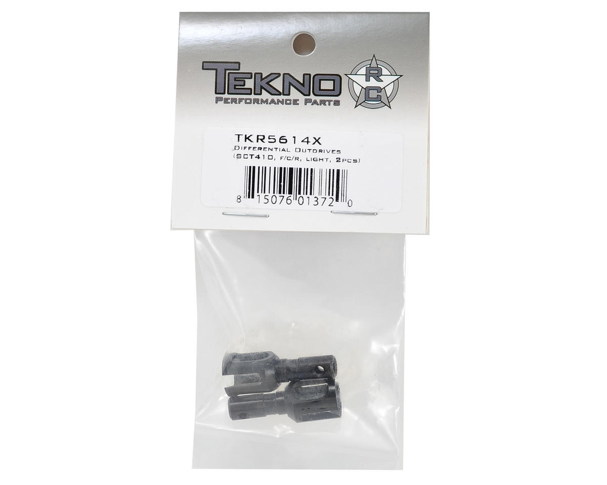 Tekno RC Lightened Hardened Steel Differential Outdrive Set (2)
