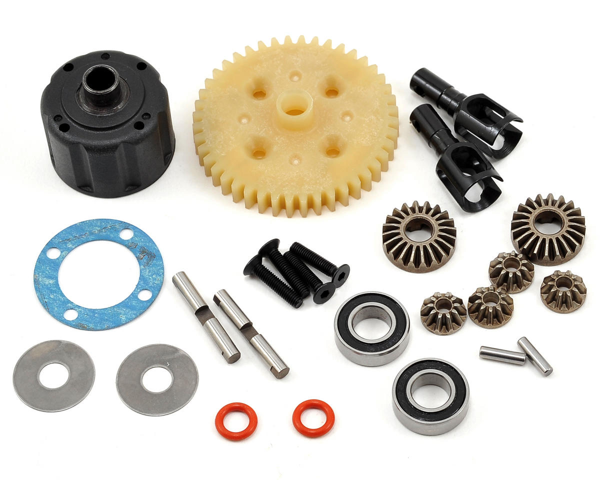Tekno RC Complete Center Gear Differential Set