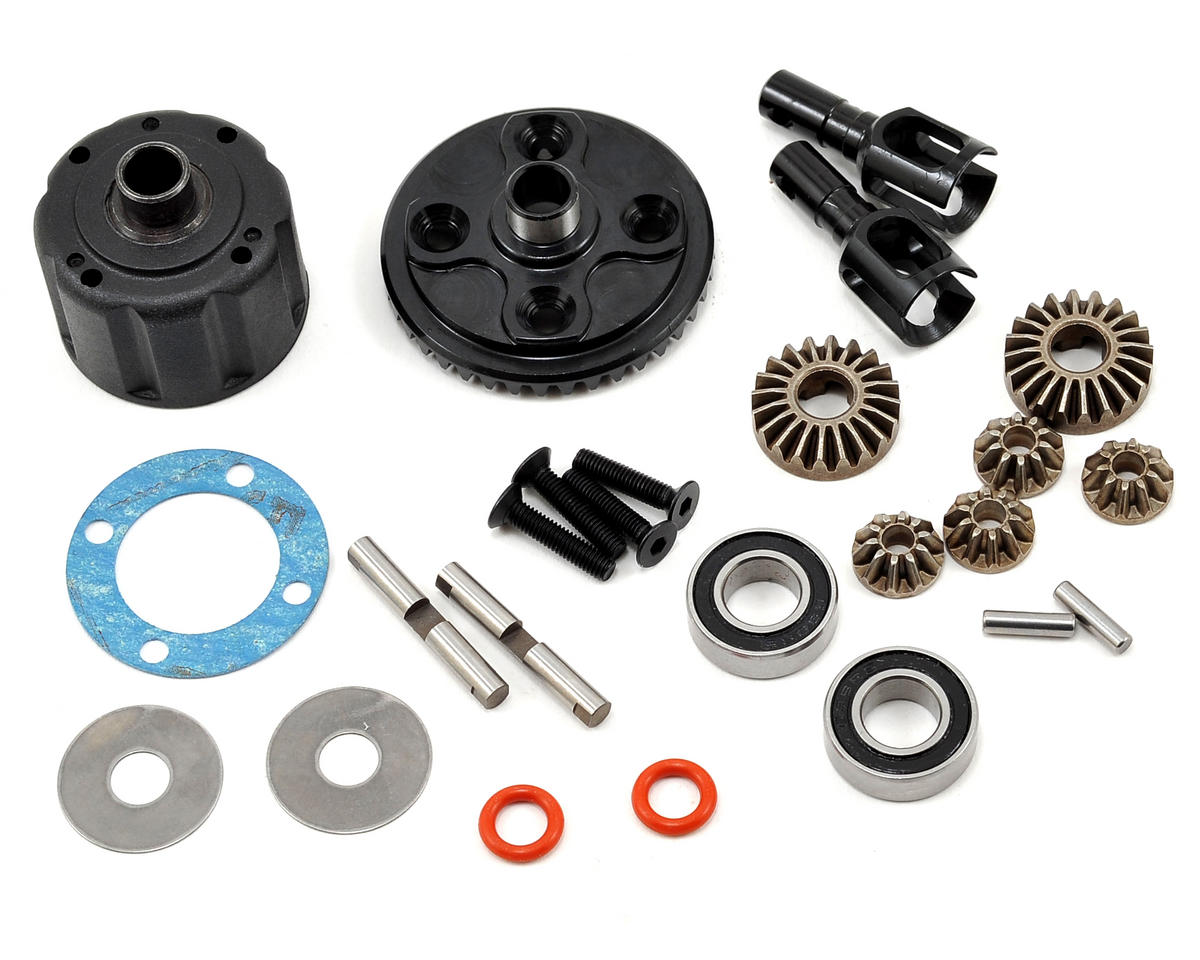 Tekno RC Complete F/R Gear Differential Set